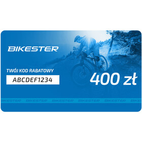 Bikester Karta upominkowa, 400 zł